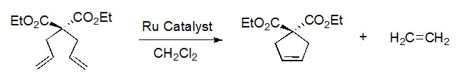 diethyl diallylmalonate ring closing metathesis Sba-15 immobilized ruthenium carbenes as catalysts for ring  catalysts prepared in this way was proved in ring closing metathesis (rcm) of diethyl diallylmalonate.