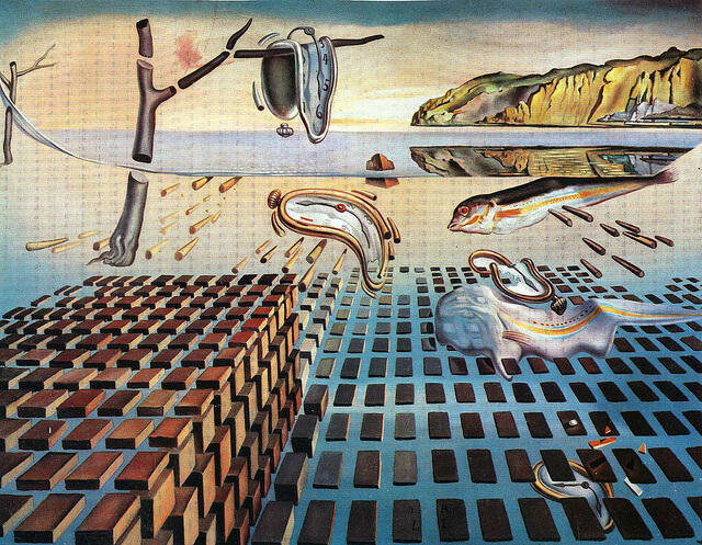 salvador dali the disintegration of the persistence of time