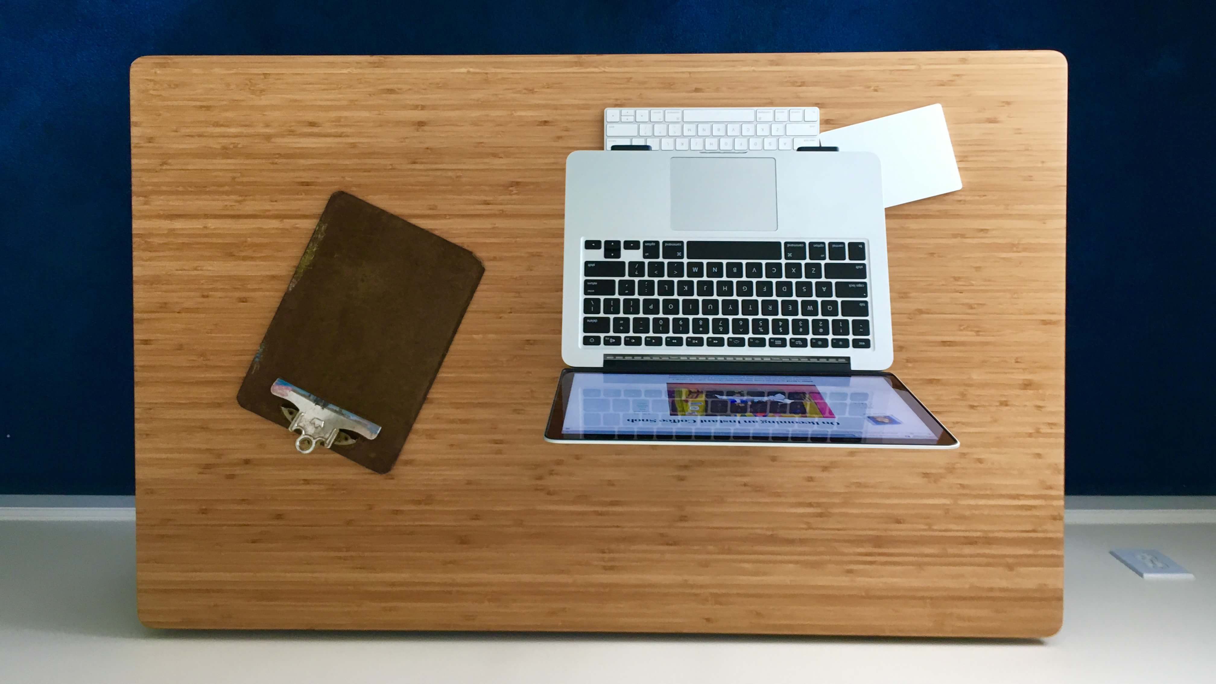jarvis bamboo desk overhead 2